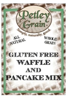 Gluten Free Waffle and Pancake Mix