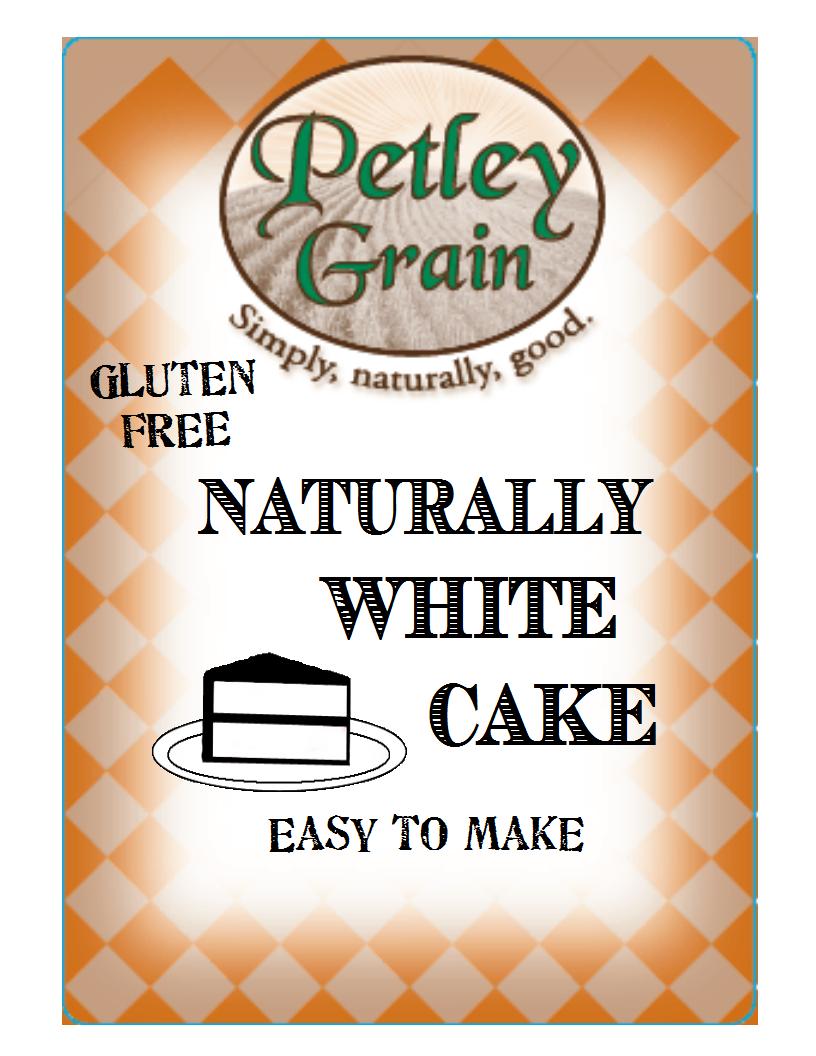 naturally white cake