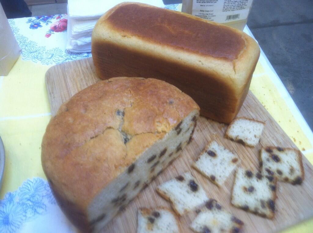 Gluten Free Raison Bread