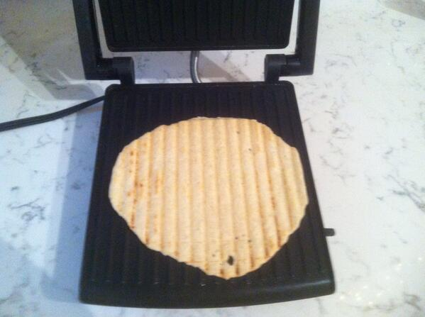 GF Flat Bread (panini press)